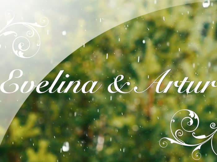 Wedding video and Evelina and Arthur