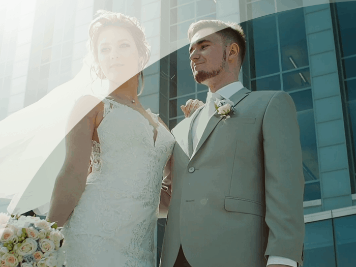 Wedding video Kate and Dima (Shooting with copter)