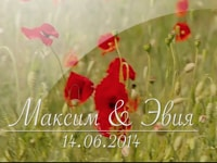 Wedding Video Maxim & Evia 06/14/2014